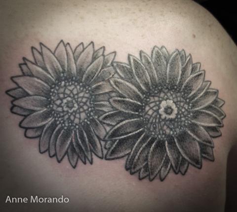 Botanical Floral Tattoo Artists Anatomy Tattoo Ne Portland Oregon