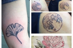 Collage of Tattoo Images