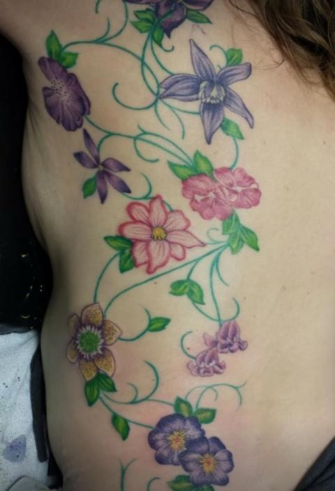 botanical tattoo designs Archives | Anatomy Tattoo