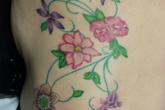 botanical tattoo by Anne Morando